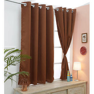Cliths 2 Panels Monk's Robe Room Darkening Blackout Curtain (V.LongDoor- 4.5 x 10 ft)