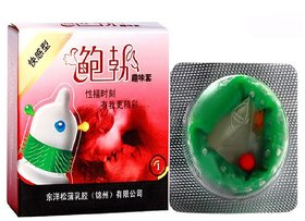 Imported Spiked Full Pleasure Condm - 1pcs.