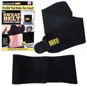 Huntdeal Sweat slim Black Shapewear men- women Adjustable