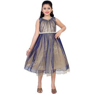 Saarah Blue Dress For Girls
