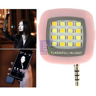 16 LED Selfie Flash Light Selfie LED Light for Smartphones to Take Selfies in the Dark or Use it as Torch