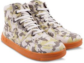 Flippi Men'S Green Casual Shoes