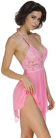 greenbee Lace Baby Doll Dresses With Panty