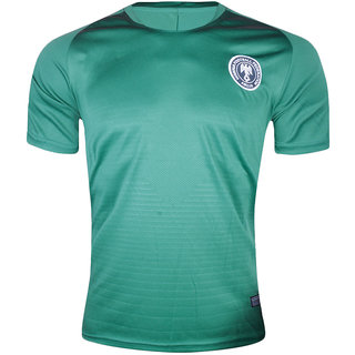 new concept ef72f 88931 Fifa World Cup Nigeria Green Colour National Team Jersey