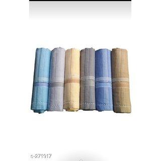 cotton handkerchief for men set of 12