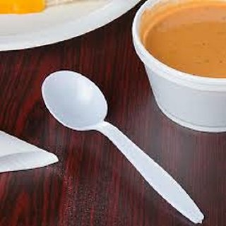 Disposable Plastic Spoon Pack Of 100