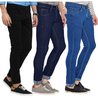 Stylox set of 3 Stretchable men's Jeans