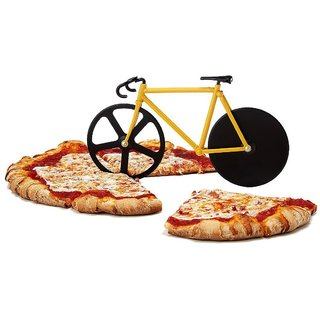 HOMOKART Unique Bicycle Shape Pizza Cutter