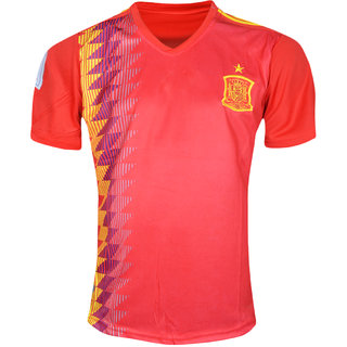 new product 06f47 43b61 Fifa World Cup Spain Red Colour National Team Jersey