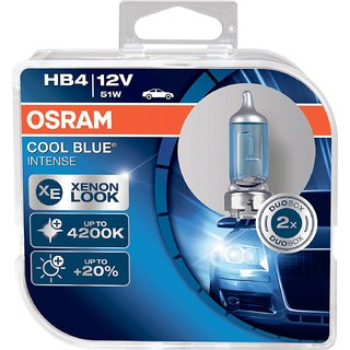 Osram HB4 9006 Cool Blue Intense Duo Box (12V 51W)
