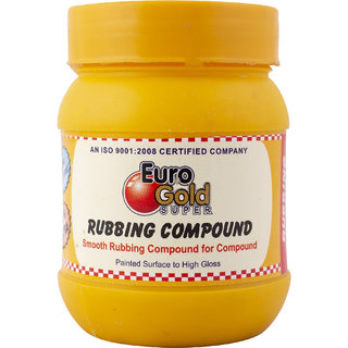 Euro Gold Smooth Rubbing Compound for Painted Surface to High Gloss