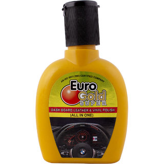 Euro Gold Car Dashboard, Leather  Vinyl Polish (All in One Polish)