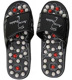 AMAFHH53 Accupressure Massage Slippers Leg Foot Massager ACCU PADUKA