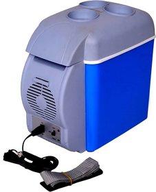 s-216 Mini Refrigerator Portable Fridge 12v 7.5l Car Travel Fridge Multi-function Home Cooler Freezer Warmer Cooling