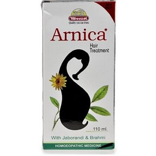 Wheezal Arnica Hair Treatment Oil 110 ml Pack of 2 110 MLX2 ,220 ML