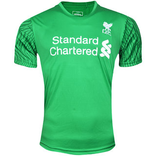 LFC Green Colour Dry Fit Half Sleeve Round Neck Jersey