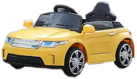 OH BABY Kids Battery Operated Ride On Car With Yellow C