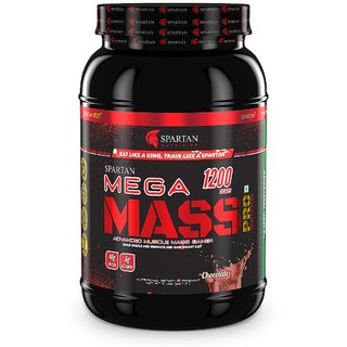 Spartan Nutrition Mega Mass PRO Series Weight/Mass Gainer (2.2LBS Chocolate)