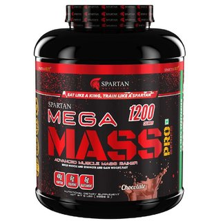 Spartan Nutrition Mega Mass PRO Series Weight/Mass Gainer (5LBS Chocolate)