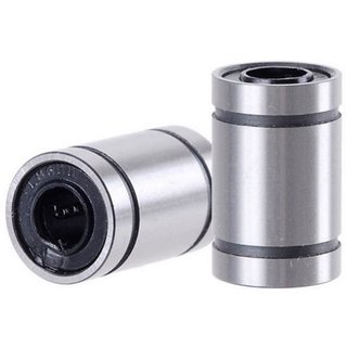 Invento 12pcs LM10UU 10mm Rod Linear Ball Bearing For 3D Printer CNC Robotic DIY Project