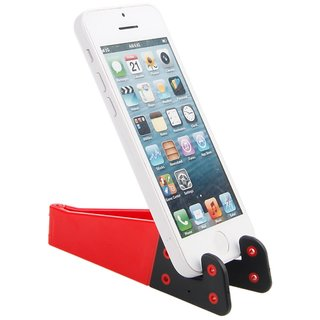 NIPSER Folding Mobile and Tablet Stand, Multicolor