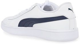 Puma Men's White Smash V2 L Sneakers