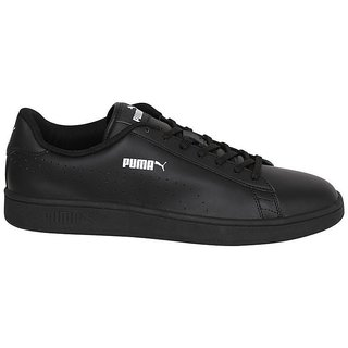 3455e1efdb01 Buy Puma Men s Black Smash v2 L Perf Sneakers Online   ₹3999 from ...