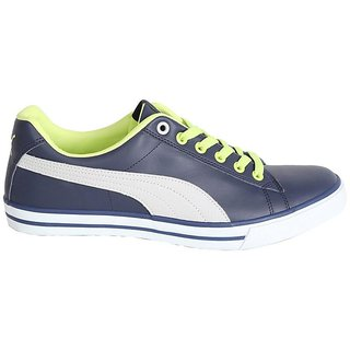 cd531e38eb680f Buy Puma Men s Navy Blue Salz NU IDP Sneakers Online   ₹2999 from ...