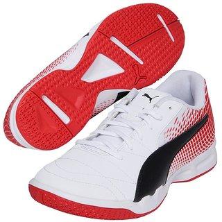 5d4c84efb08c Buy Puma Men s White Veloz Indoor NG Badminton Shoes Online   ₹4999 ...