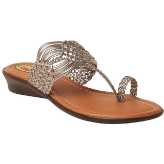 MSC Women Synthetic Grey sandal