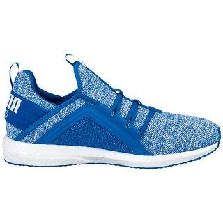 821d64077a71 Buy Puma Men s Sky Blue Mega NRGY Knit Running Shoes Online   ₹5999 ...
