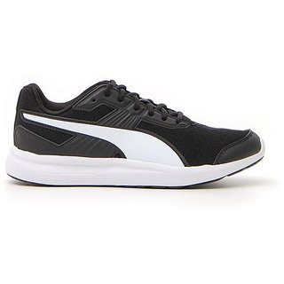 Puma Mens Black Escaper Mesh Running Shoes