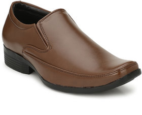 DERBY KICKS COMFORTABLE BROWN FORMAL SHOES FOR MEN'S WO