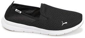Puma Women's Black Flex Essential Slip On Casual Shoes