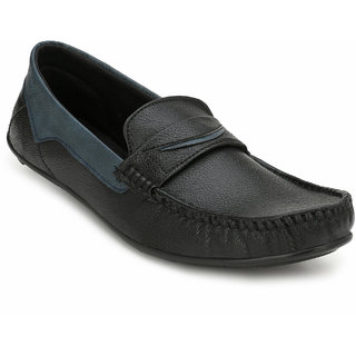 Evolite Black Stylish Loafers for Men and Boys