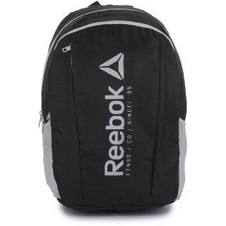 Reebok Unisex Black Found Backpack