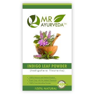 MR Ayurveda 100 Natural Indigo Powder Hair Color