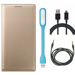 Redmi Note 4 Stylish Cover with USB LED Light, USB Cable and AUX Cable