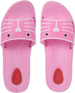Czar Flip Flops Slipper for Women RO-09 Light Pink