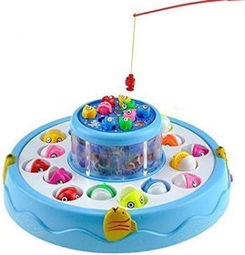 Shribossji Fishing Catching Game With Music For Kids - Fishing Game Big Size  (Multicolor)