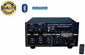 MEDHA PROFESSIONAL MDA-450 USB BLUETOOTH P.A. AMPLIFER WITH DIGITAL MEDIA PLAYER
