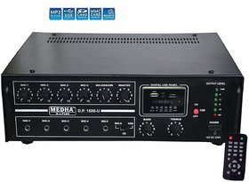 MEDHA PROFESSIONAL 160 WATT P.A. KAROKE BLUETOOTH AMPLIFIER WITH DIGITAL MEDIA PLAYER