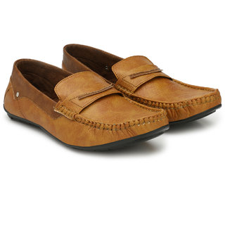 Evolite Tan Stylish Loafers for Men and Boys