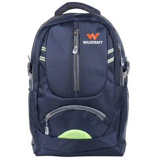 Wildcraft Branded Backpacks Laptop Bags College School Bag Backpack Blue