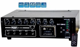 Medha D.J. Plus Professional 120 Watt P.A. Amplifier With Digital Media Player