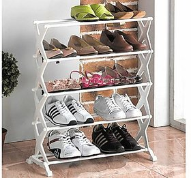 Designer Portable Stylish 5 Layer Shoe Rack