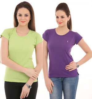 (Pack Of 2),Ultrafit Branded Comfortable Soft N  Attractive T-Shirts.