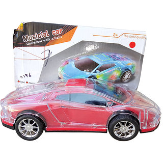 OH BABY, BABY 3D LIGHT  MUSICAL POWER WITH AUTOMATIC SENSOR WHITE COLOR CAR FOR YOUR KIDS SE-ET-03