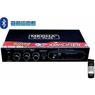 MEDHA D.J. PLUS MD-9800 Bluetooth Karoke Amplifier
