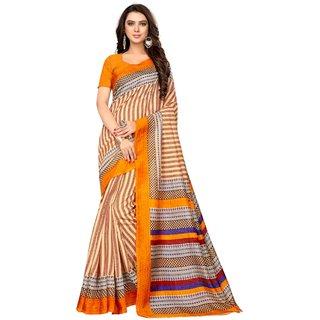 RASHMI ORANGE (BHAGALPURI SAREES) NEW BOLLYWOOD-INDIAN-DESIGNER-PARTY-WEAR-ETHNIC Peria-Apparel